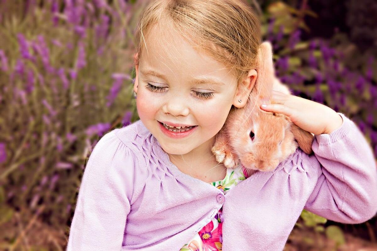 Fotoshooting mit Kind und Tier in Muenchen Fotograf Outdoor
