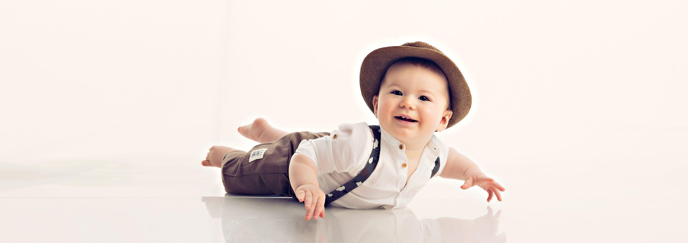 BabyShooting bei Fotostudio Bergmann in Muenchen