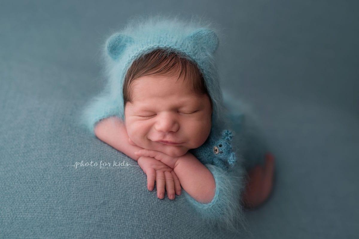 Neugeborenes beim Fotoshooting von Nicoleta Raftu