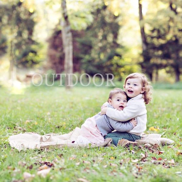 Outdoor Fotografie fuer Babybauch, Babys und Familie von Carmen Bergmann Studio in Muenchen