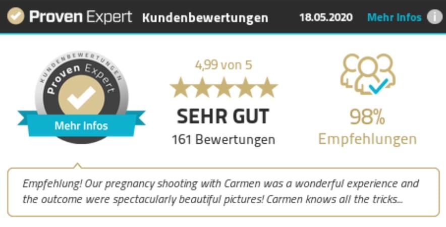 Kundenstimmen Provenexpert Carmen Bergmann Studio