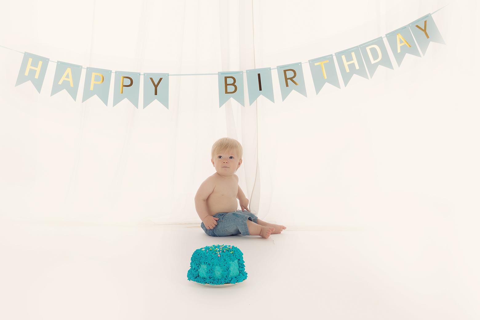 Baby 1 Jahr Fotoshooting Muenchen Fotostudio