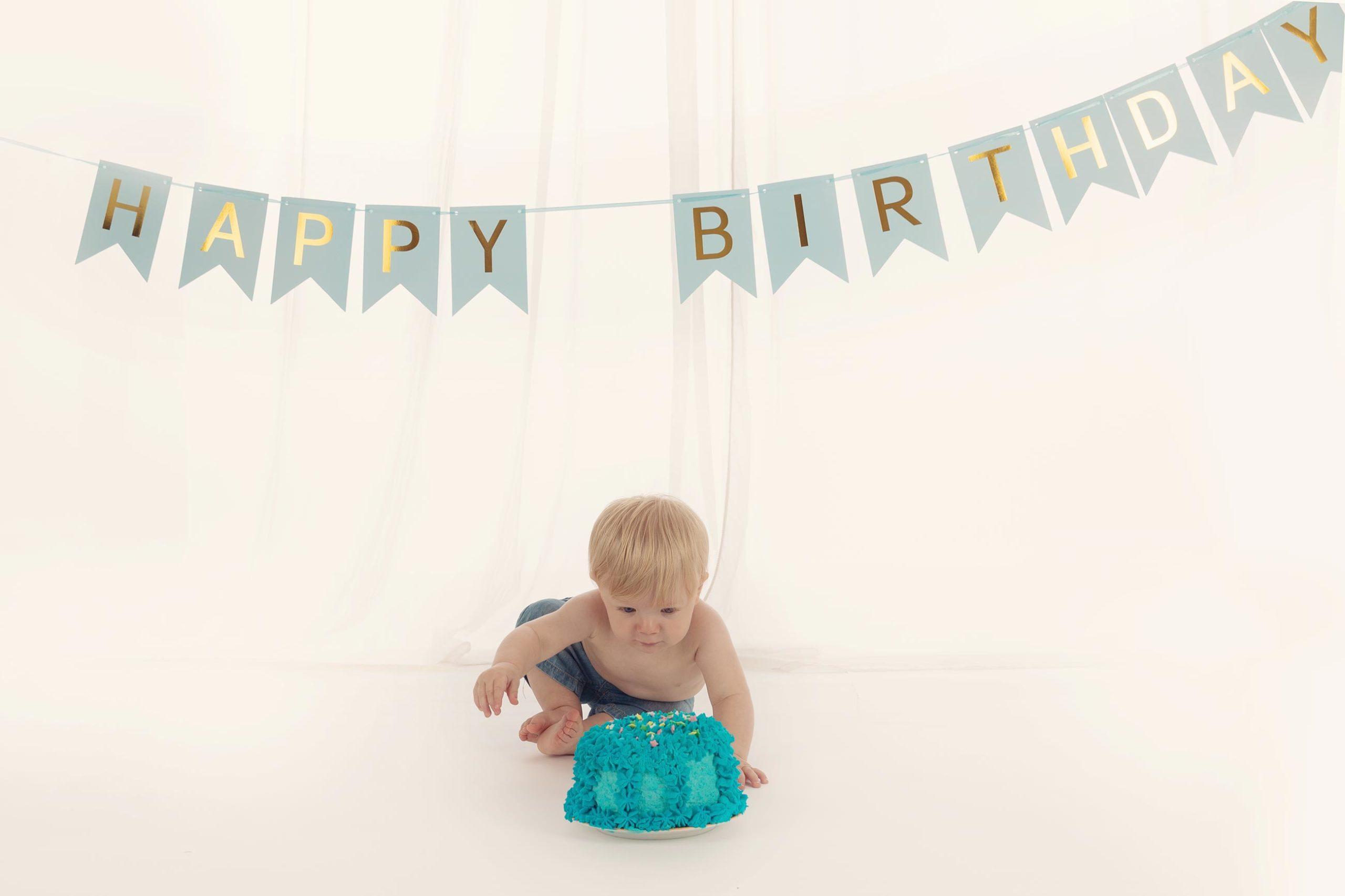 Baby 1 Jahr Fotoshooting Muenchen
