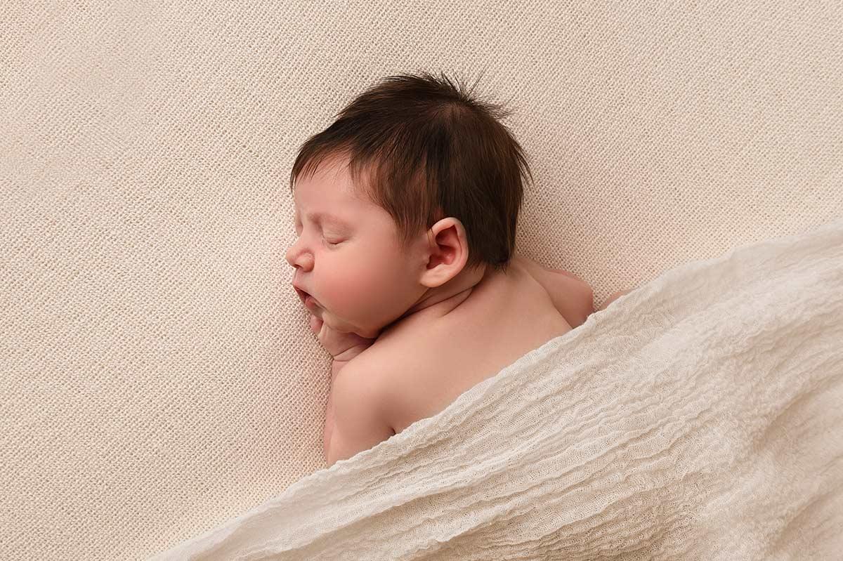 Baby Fotoshooting Muenchen Natural und Schoen